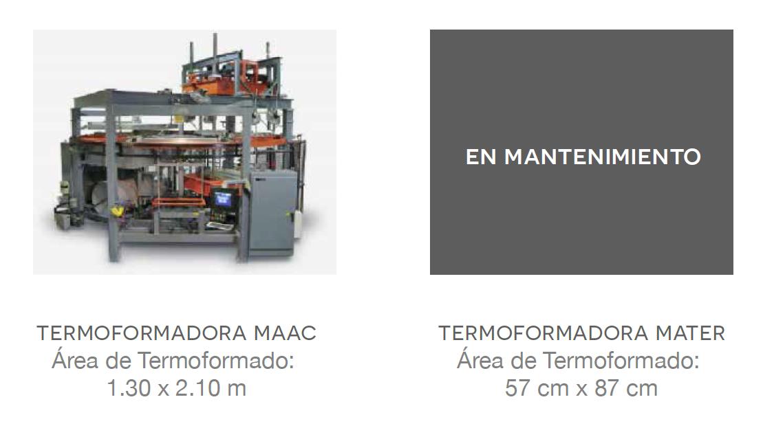 maquina de termoformado